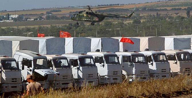 Rusya ile Ukrayna arasında yardım konvoyu anlaşması