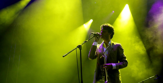Beirut, İstanbul'da konser verdi
