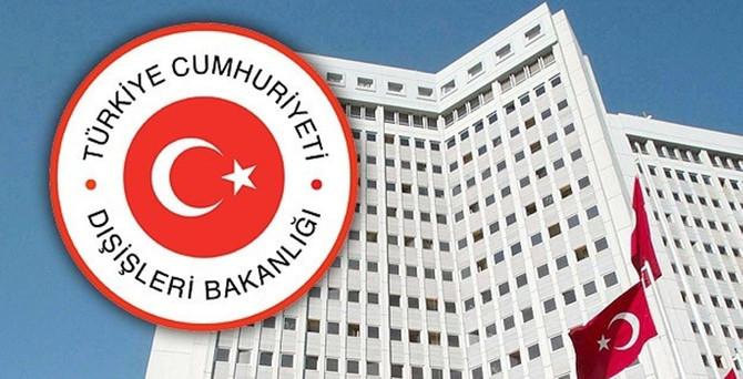 Dışişleri Bakanlığı'ndan Özdemir açıklaması