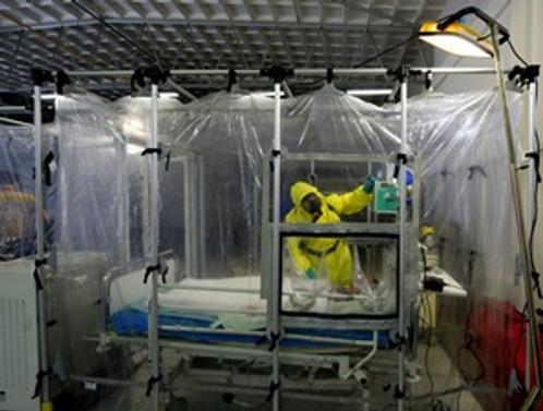 Ebola salgını nedeniyle bir milyon kişi karantinada