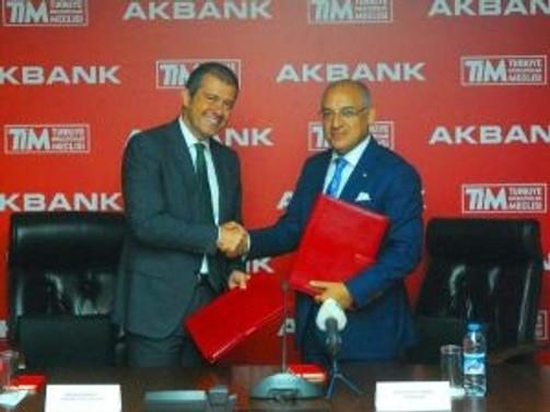 TİM ve Akbank'tan finansal işbirliği
