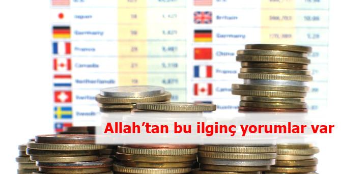Allah'tan bu ilginç yorumlar var