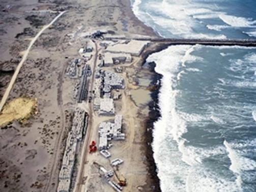 Karasu Limanı'nda yer teslimi için imzalar atıldı