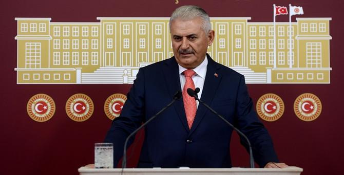 """Davutoğlu'na """"Yıldırım"""" destek"""