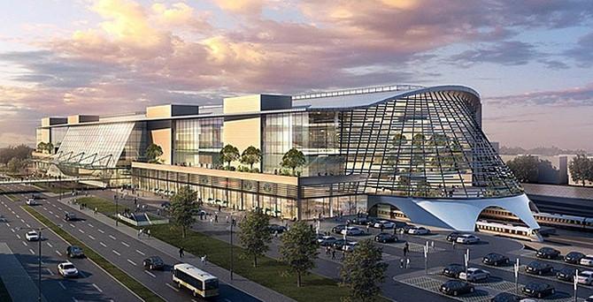 YHT terminali 2016'da hizmete girecek