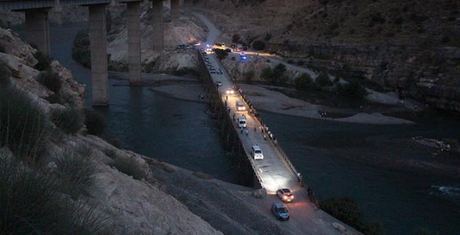 Siirt'te baraj faciası