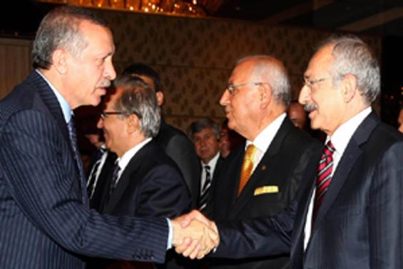 Gözler Erdoğan-Kılıçdaroğlu görüşmesinde