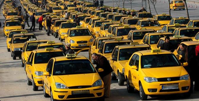 Taksi ücretlerine zam!