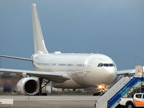 TC-TUR uçağı İstanbul'da