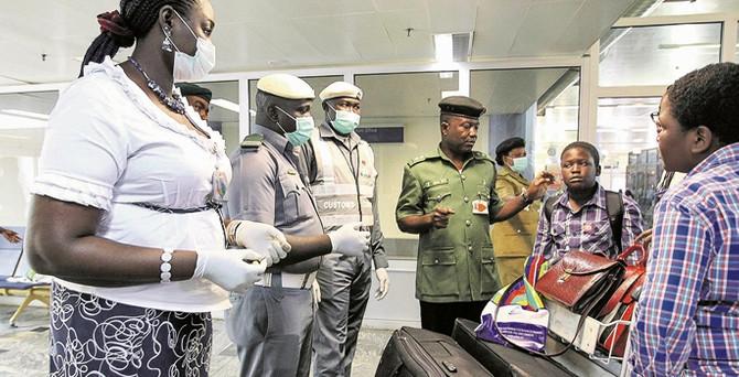 Ebola, Afrika'da sporu etkiliyor