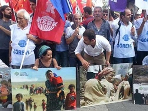 Kadıköy'de 1 Eylül eylemi