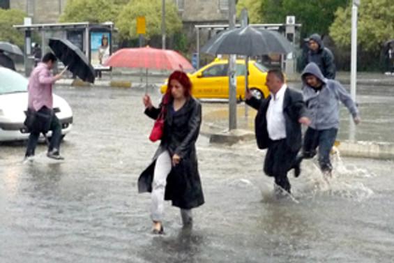 Yağışlar yurt genelinde sürecek