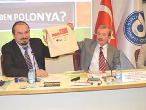 Polonya ticaret heyeti İZTO'yu ziyaret etti