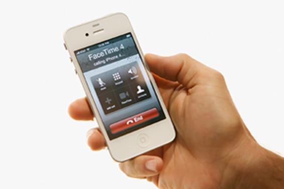 iPhone 4 satışta