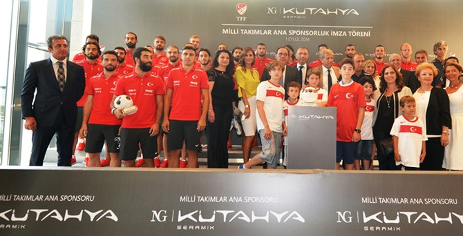 NG Kütahya Seramik Milli Takım'ın ana sponsoru oldu