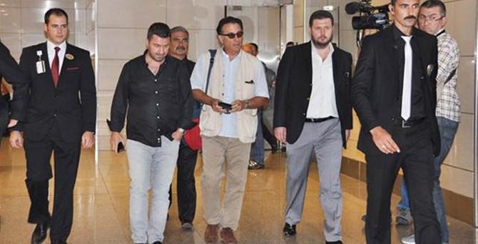 ABD'li aktör Andy Garcia, İstanbul'da