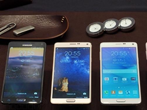 Samsung Galaxy Note 4 yakında Avea'da