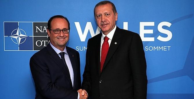 Erdoğan, Nato Zirvesi'nde liderlerle görüştü
