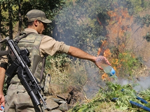 Elazığ'da hava destekli operasyon