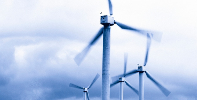 Kangal rüzgâr santrali üretime başladı