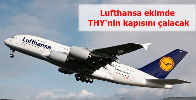 Lufthansa ekimde THY'nin kapısını çalacak
