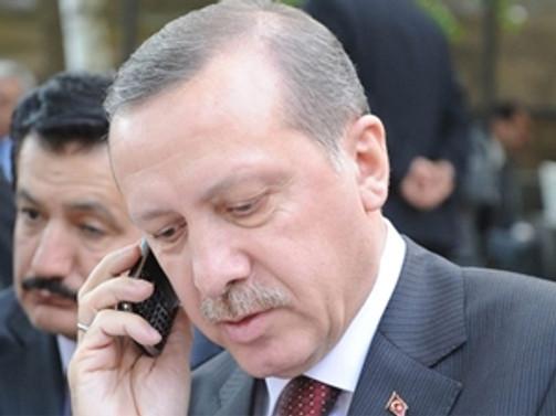 Erdoğan'dan ailelere taziye telefonu