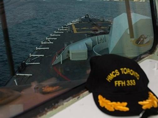 Kanada savaş gemisine Karadeniz'de taciz