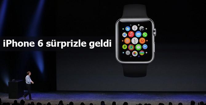 iPhone 6 sürprizle geldi