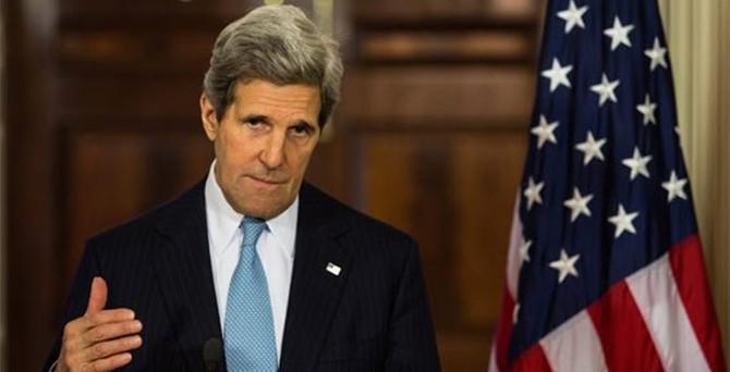 Kerry: Kürtler Kobani'de Türk askeri istemiyor