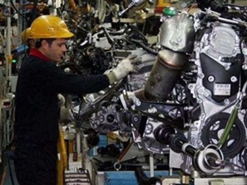 ABD'de sanayi üretimi  azaldı