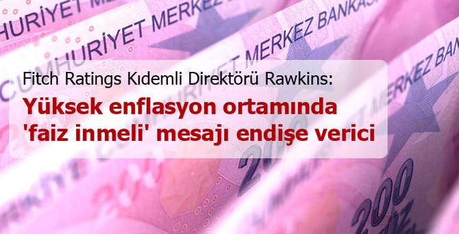 Yüksek enflasyon ortamında 'faiz inmeli' mesajı endişe verici