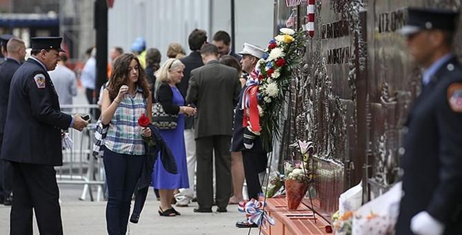 New York'ta 11 Eylül kurbanları anıldı