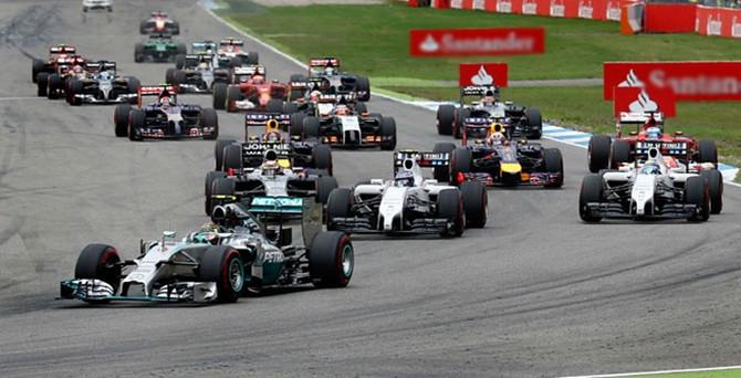Formula 1'de sezonun ilk zaferi Hamilton'ın