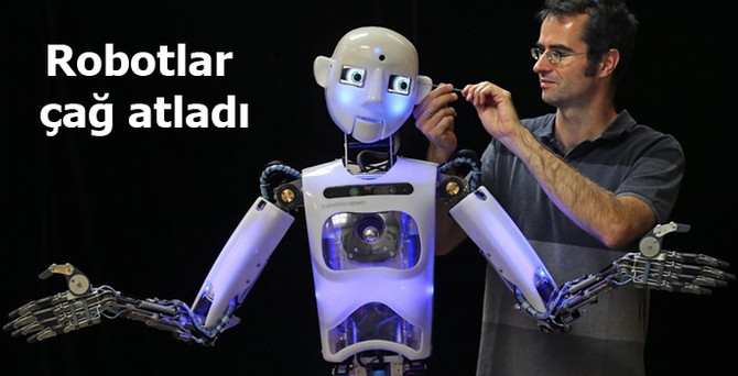 Robotlar çağ atladı