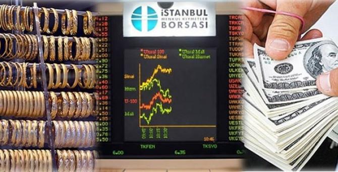 Borsa yatay açıldı, dolar yükselişte