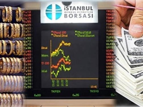 Borsada yüzde 1 düşüş