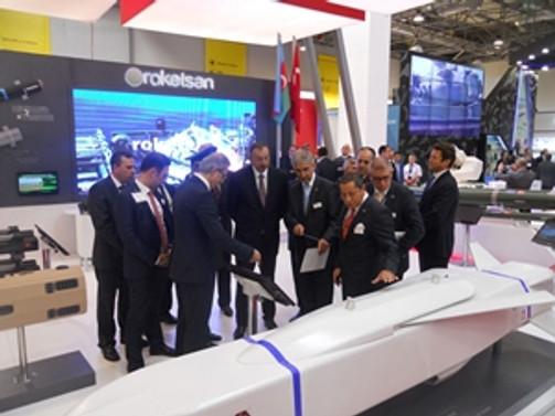 ADEX 2014'e Roketsan damgası