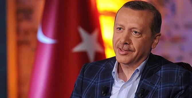 Erdoğan İstanbul'da gazetecilerle buluştu