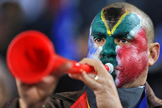 Kayseri'de vuvuzela çılgınlığı