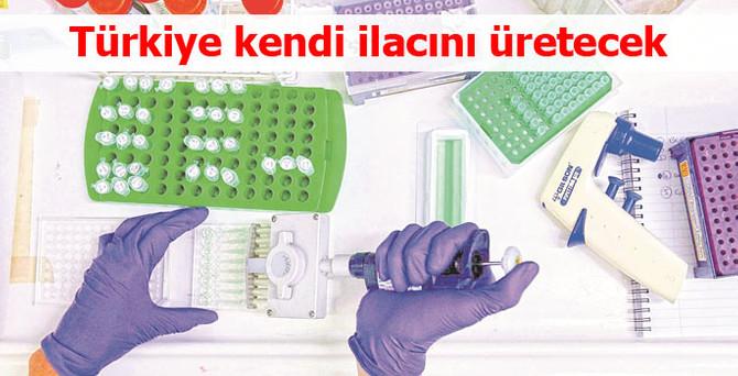 Türkiye kendi ilacını üretecek