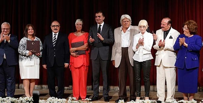 Kültür Sanat Büyük Ödülleri sahiplerini buldu