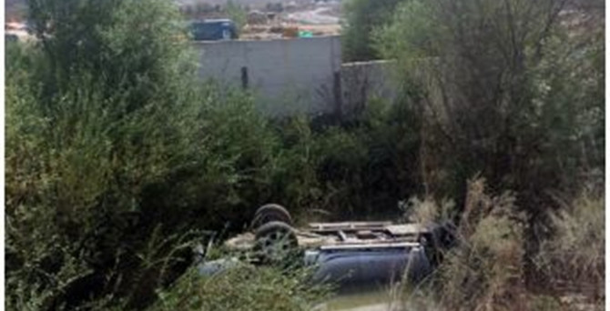 Güvenlik görevlileri kaza yaptı: 2 ölü