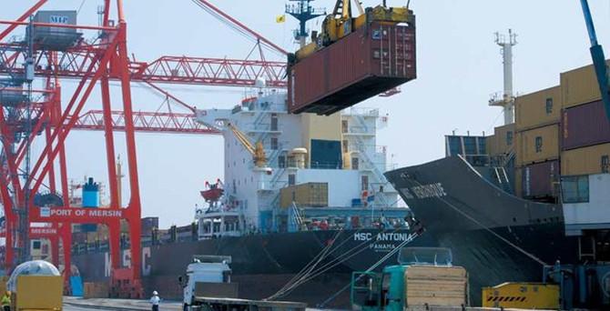 İhracatçıya Mersin Limanı'nda Kırmızı Hat şoku