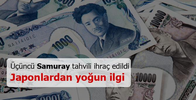 Japon yatırımcılardan Türk tahviline yoğun ilgi