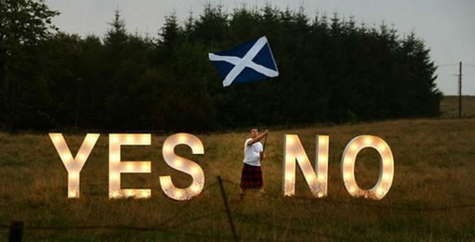 İskoçya sandık başında