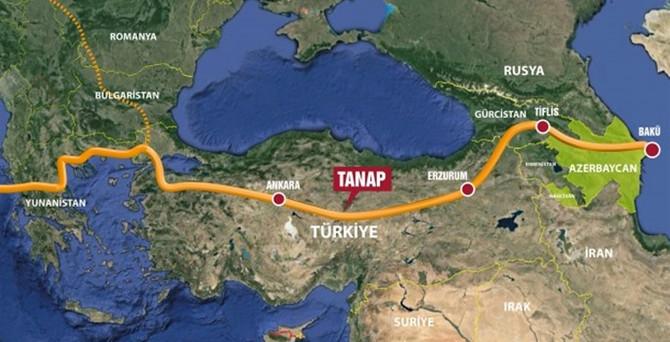 TANAP anlaşmaları yürürlüğe girdi