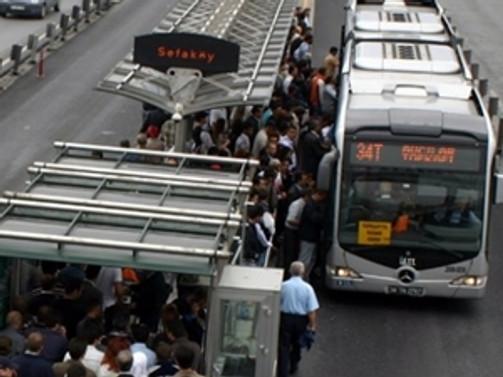 Avcılar metrobüs durağı 45 gün kapalı