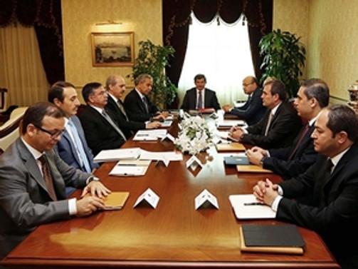 Başbakanlık'ta 'Çözüm Süreci' toplantısı