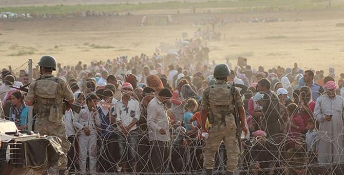 Sınırda 20 köy IŞİD'e geçti iddiası