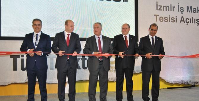 TürkTraktör ilk iş makinesi tesisini açtı